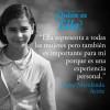 """Deisy Marulanda, la niña de la escuela EKO Audiovisual Infantil Barrio Potosí, protagonista de la Película """"Ella"""", de Libia Estella Gómez."""