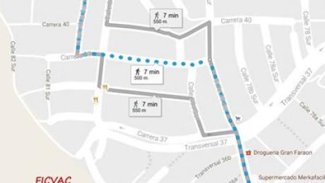 ¿Cómo llegar a la sede de festival Ojoalsancocho?