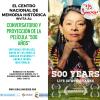 Película 500 años, en el Centro de Memoria Paz y Reconciliación