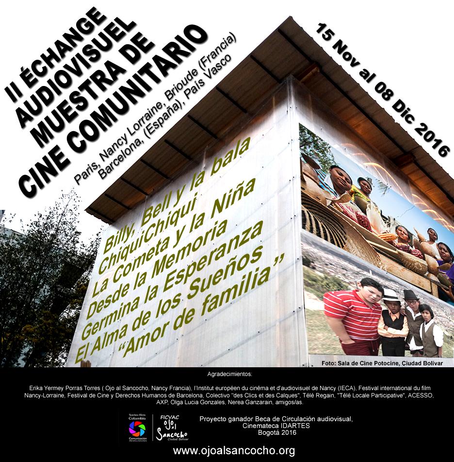 II Echange audiovisuel ojoalsancocho 2016