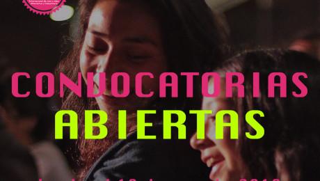 Convocatorias abiertas 2019